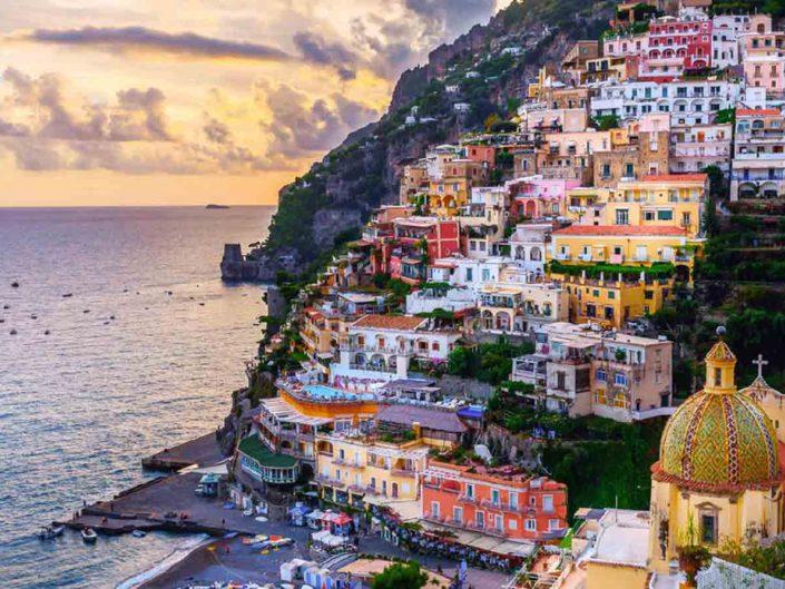 Lauren & Robbie - Positano, Amalfi Coast