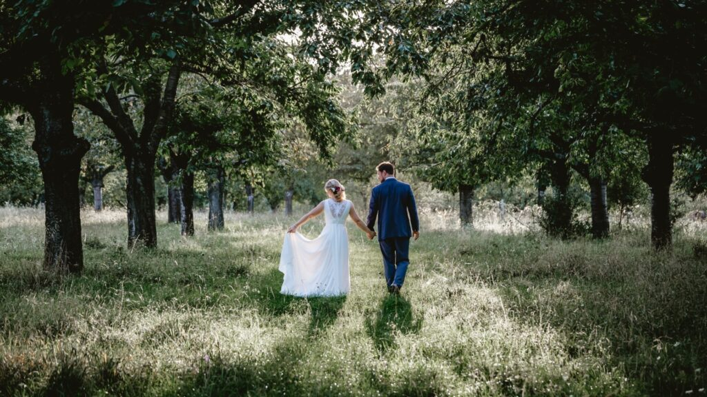 Think of a micro-wedding as something in between a large scale, traditional wedding and an elopement.